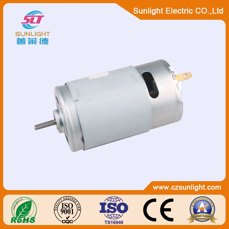 24V High torque electric DC brush Motor 9v