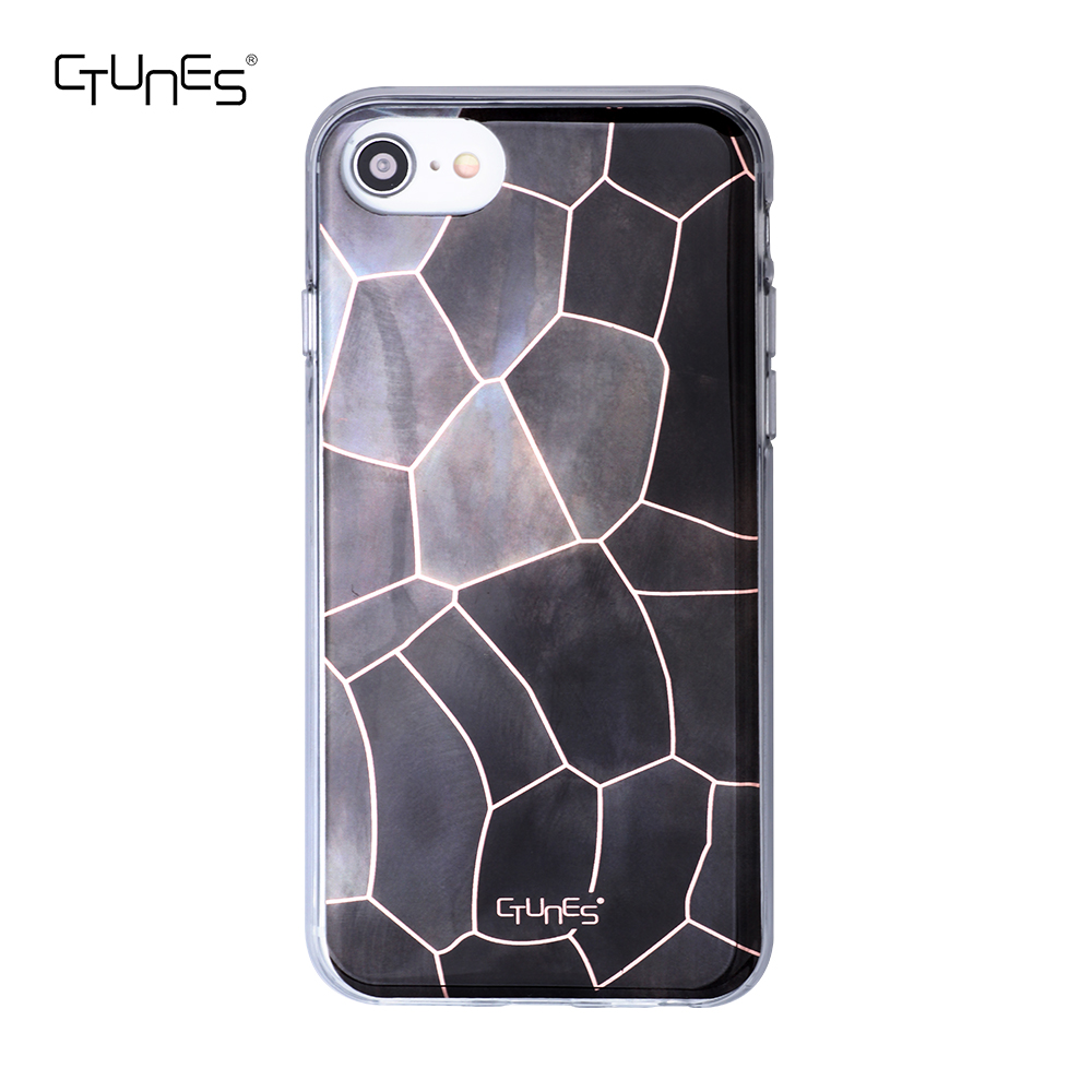 CTUNES IMD Luxury Shining Soft TPU Bumper Cell Phone Case, Customized For iphone Cases 6 / 7 / 8
