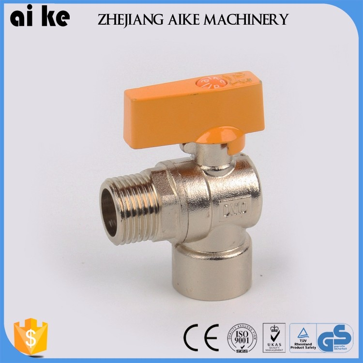 threaded brass union ball valve brass angle stop ball valve brass gas valve with t handle