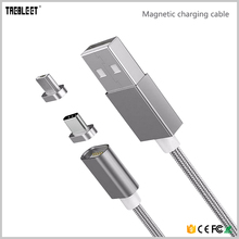 New Products 2017 Innovative Product USB Data Cable 2 in1 Magnetic Charging Cable