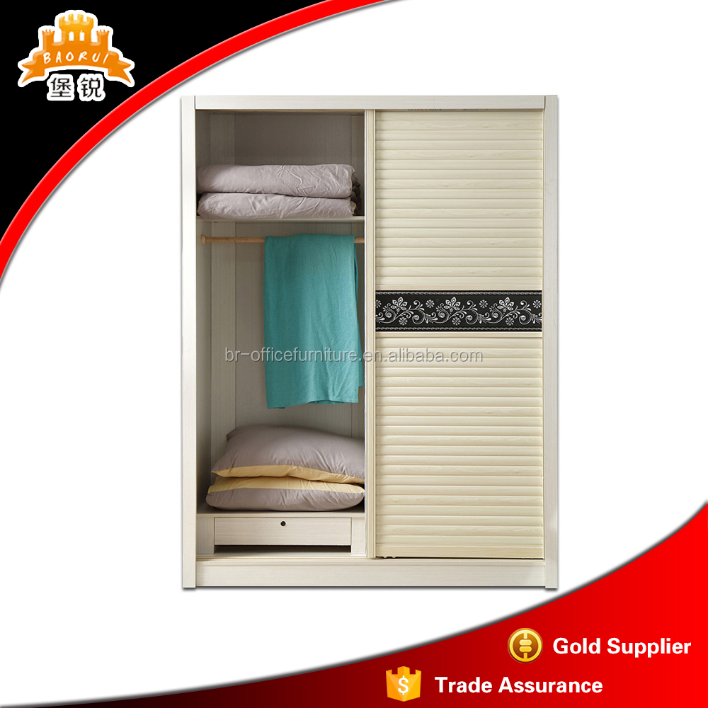 extravagant design bedroom furniture clothes wardrobe for India market