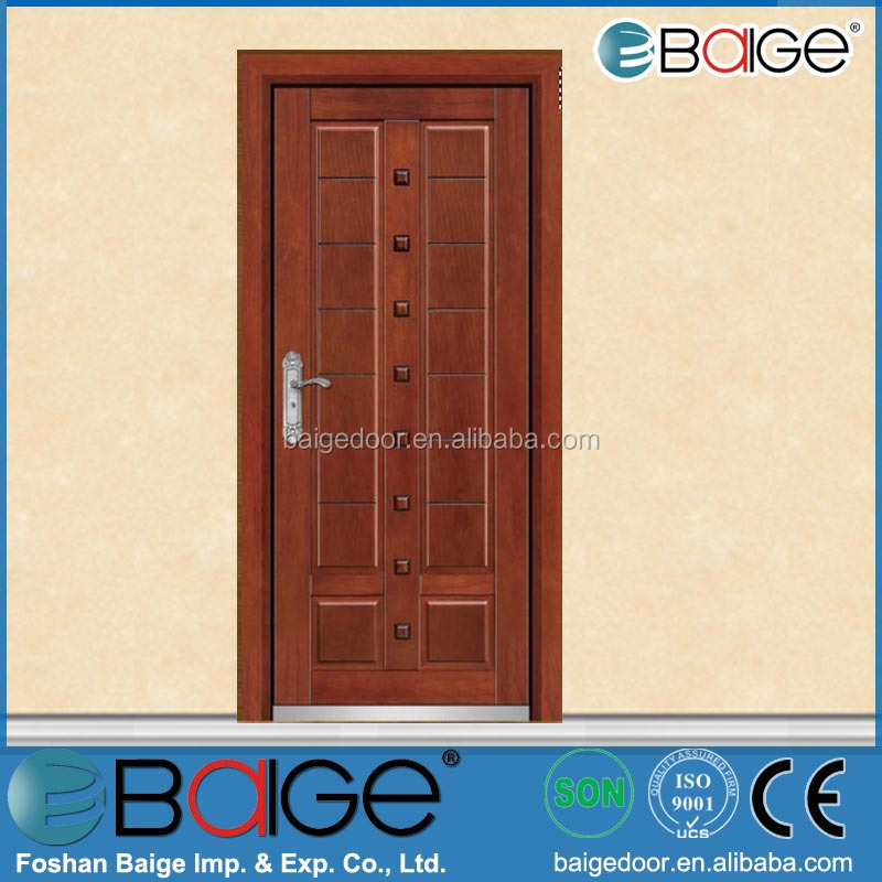 BG-A9001 main wooden door design/prayer room door design