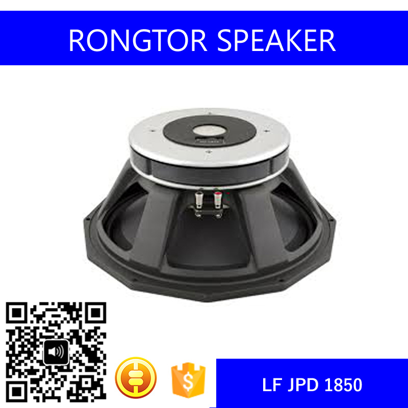 Pro Audio Super Bass 18 Inch Subwoofer Speaker, Inside-Outside Voice Coil LF Driver (JPD 1850)
