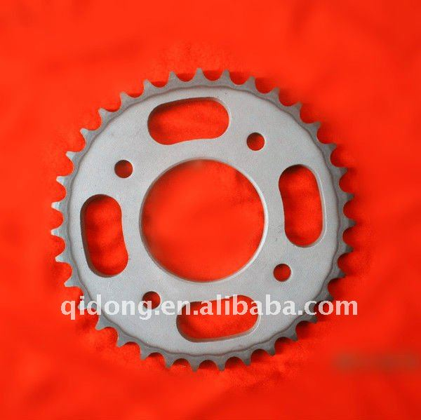 Qidong heat treatment process of surface treatmen for motorcycle sprocket