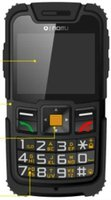 New! Quad band old man cellphone with SOS Dual SIM card