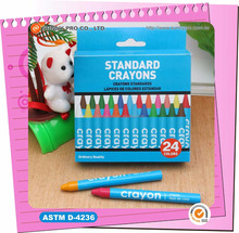 Professional Hot Children 24 Pack Color Boxes Regular size Crayons pen