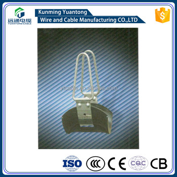 Insulated Suspension clamp(polypropylene & stainless steel) China supplier