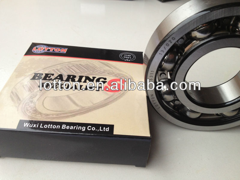 Best Selling Lotton Deep Groove Ball Bearing 6300-2RS 6300 2RS