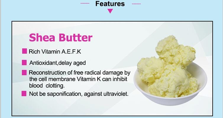 Pure Natural Skin And Body Care Cosmetic Export Unrefined Shea Butter Raw