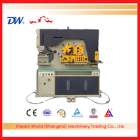 """SLMT"" hydraulic ironworker , wrought iron worker , hydraulic punching and cutting machine with high quality"