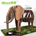 DIY Wooden Elephant Display Table