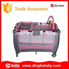 baby playpen made in china,portable baby play pen,out door baby bed playpen DKP2015270