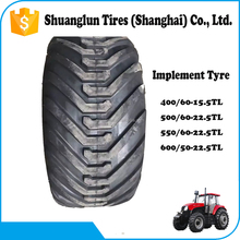 Bias Agriculture tire I-3 pattern tractor implement high flotation tire 500/60 -22.5 550/60 -22.5 600/50 -22.5 700/40 -22