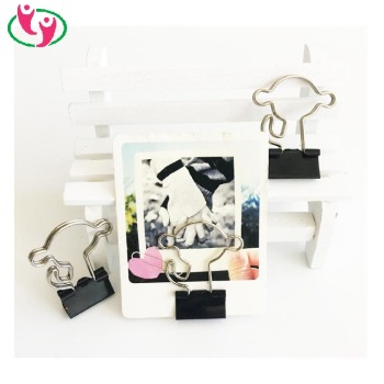 Cute Monkey Shape Binder Clip