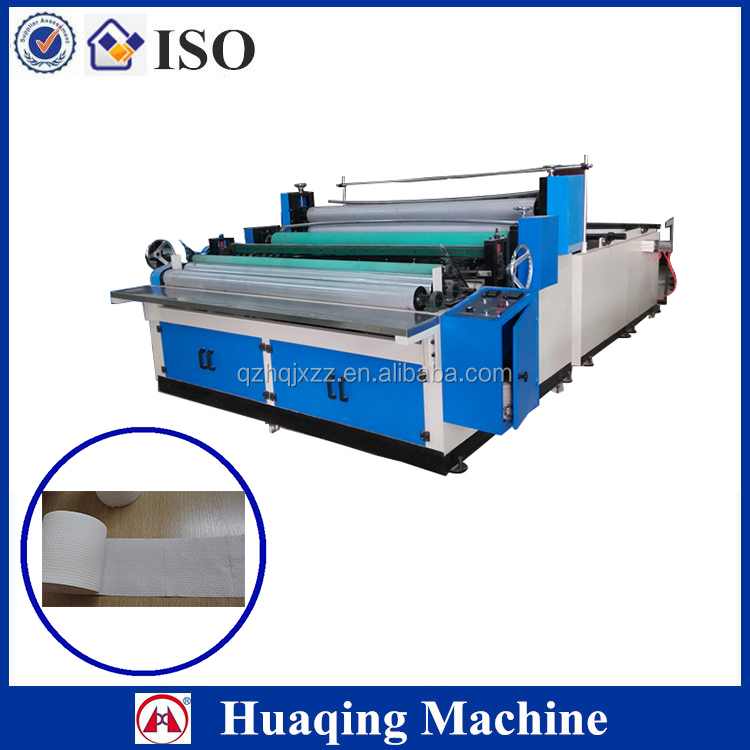 Toilet tissue manufacturing machine to making bathroom paper