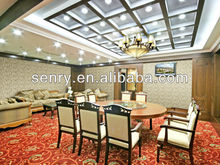 Banquet hall wall decoration