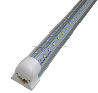 factory direct supply integrated T8 4ft 5ft 6ft 8ft 22w 32w 39w 44w led cooler v shape free shipping japanese tube
