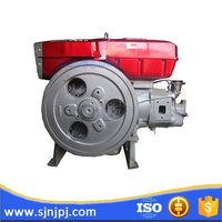 20hp Small water cooling marine diesel engine with diesel engine fan
