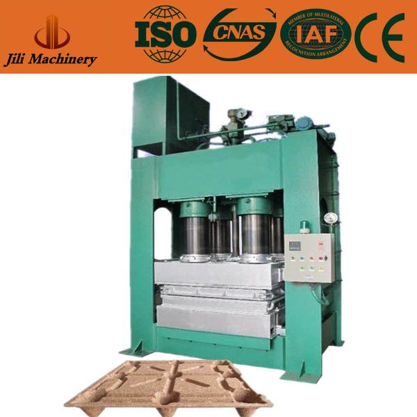Enviromentlly Friendly Press Wood Pallet Collar Machine