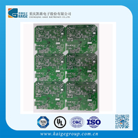 FR4 Green Sold Mask 4 Multilayer Plain Bluetooth Speak Circuit Board Design