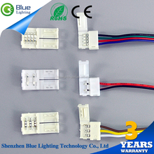 Best Price white PCB board 600 LEDs / 5 Meters 4 pin 5630 Led strip connector