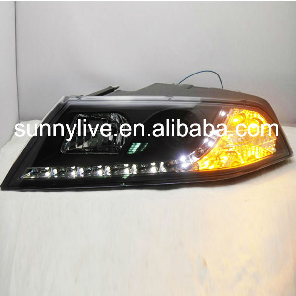 Skoda Octavia LED Head Lamp with projector lens 2005-2009 year