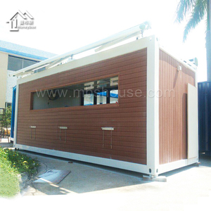 Wooden container kiosk/coffee shop/booth/house