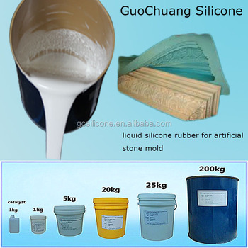 selling rtv moulding silicone rubber for gypsum mold