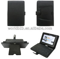 Bluetooth keyboard leather case for kindle fire 8.9