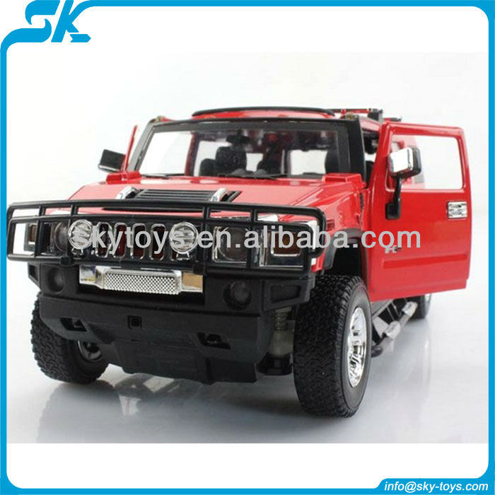 Hot! 4CH diecast car Lifelike Licensed Remote Control Diecast Off-road Car Model with Bright Lights 25020A