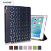 2017 Luxury gilding leather auto sleep tablet leather case for ipad air smart cover