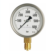 50/63 Gly,D6 LOW PRICE BOURDON TUBE TYPE /Liquid filled pressure gauge with Liquid Filling