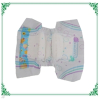 Double Elastic Ears Baby Diaper Ultra Soft Disposable Diapers