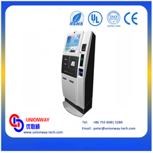 Customized Digital Information Touch Screen Payment Kiosk Terminal Machine