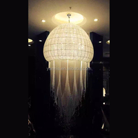 New design customized Large Modern crystal chandelier for hotel lobby decoration