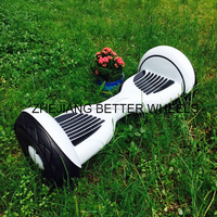 Hot New model 10inch flashing wheel two wheels electric trike self balancing scooter
