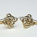 High Quality Custom Wholesale Stainless Steel Celtic Cufflinks