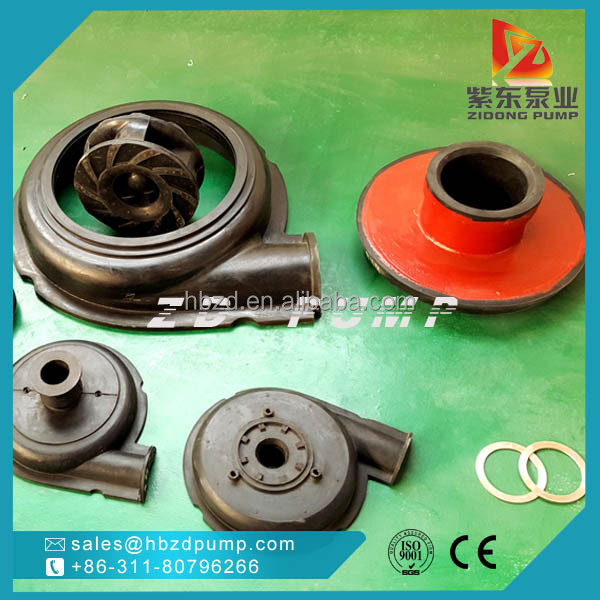 rubber liner slurry water pump parts China manufacturer 8