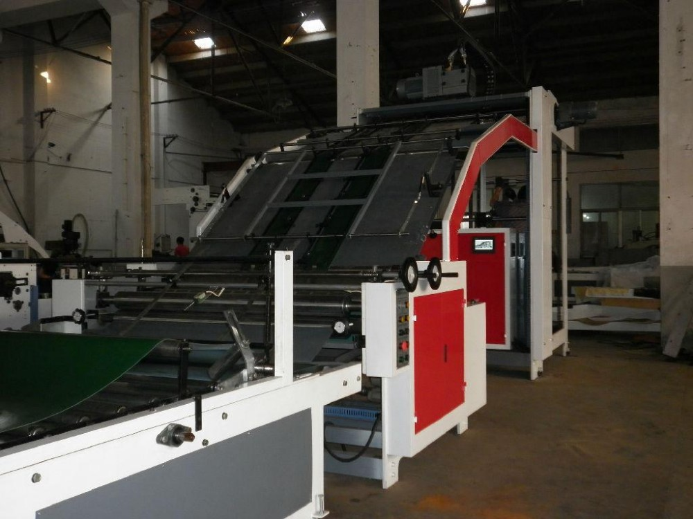 FMB-G Series Semi automatic machine for card paper flute laminating