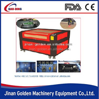 Acrylic/wood/glass laser cutting machine for POP displays, digital printing