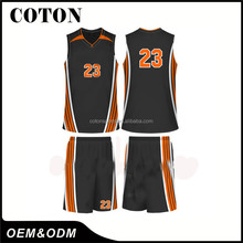 2017 OEM new products hot sale custom basketball uniform jersey