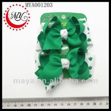 St. Patrick's Day Hair Bow