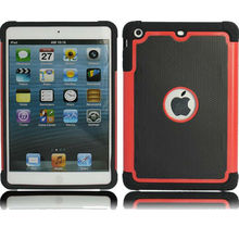 pc+silicone combo protective Case for ipad mini