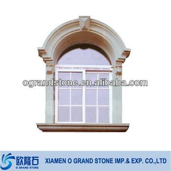 Custom Exterior Arched Decorative Stone Window Frame Buy