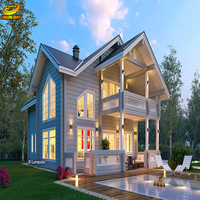 Customized steel frame designs cheap modern prefabricated house