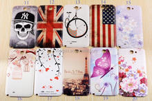 New Painted Rubber case Hard back Case Protector Cover for Samsung Galaxy Note 2 N7100 i9220