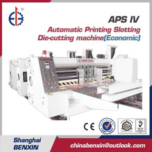 APS IV Automatic Carton making Flexo Printing Slotting Die-cutting Corrugated cardboard carton box making machine