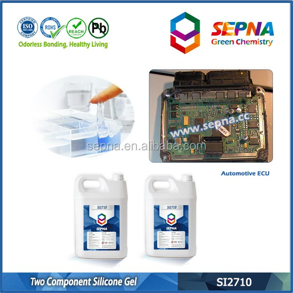 SI2710 no solvents electronic silicone rubber gel