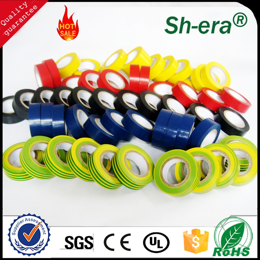 High quality pvc adhesive electrical tape with free samples
