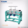 FUWEI good quality computerized 2 heads rack embroidery machine with dahao system as brother type for good use